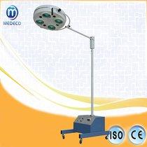 Lámpara de funcionamiento quirúrgica del instrumento médico F500 del hospital cinco lámparas móviles con la batería