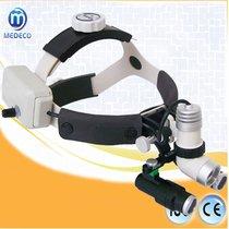 Lampara LED médica, dental, quirúrgica y ginecológica Ent Kd-202A-7 con lupas