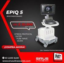 Oferta Ultrasonido Philips EPIQ 5, Equipo Cardiovascular Re-acondicionado