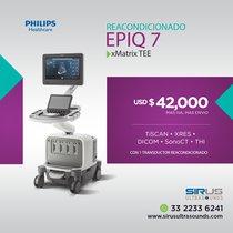 Oferta Ultrasonido PHILIPS EPIQ 7 xMatrix TEE, Equipo cardiovascular re-acondicionado