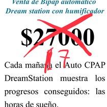 Bipap Dreamstation nuevo a la venta