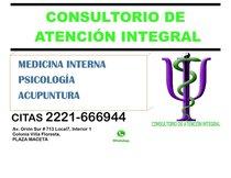 Medico Internista. Enfermedades de Adulto, Consulta y Hospitalización.