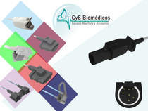 Sensor reusable compatible con Datex-Ohmeda OXY-F4-H