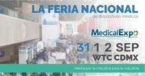 Medical Expo. México 2020 CAMBIO DE FECHA  31 de agosto, 1 y 2 de septiembre, 2020