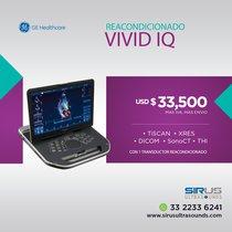 Ultrasonido GE Vivid IQ Reacondicionado