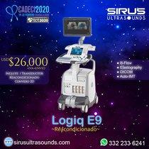 Ultrasonido GE Logiq E9 reacondicionado