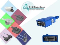 Sensor reusable compatible con Nellcor OxiMax.