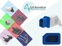 Sensor reusable compatible con  Nihon Kohden