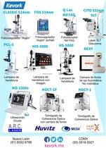 La mejor Tecnología para su consulta. Equipos oftalmológicos