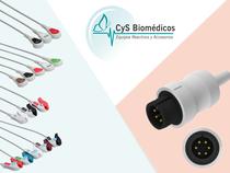 Cable de ECG compatible con  AAMI