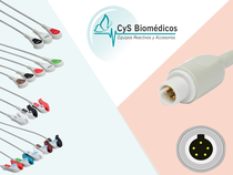 Cable de ECG compatible con  Burdick