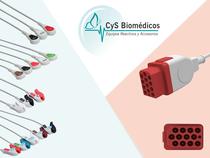 Cable de ECG compatible con Bionet BM5
