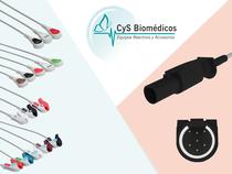 Cable de ECG compatible con CAS Med 750