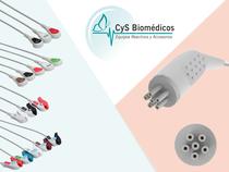 Cable de ECG compatible con Colin BP885