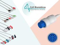 Cable de ECG compatible con Datex Ohmeda Cardiocap