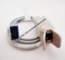 Sensor de saturacion de oxigeno para monitores modulares